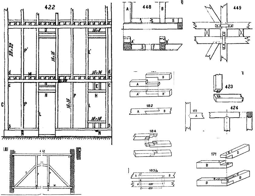 De la construcción entramada a la introducción de estructuras ...