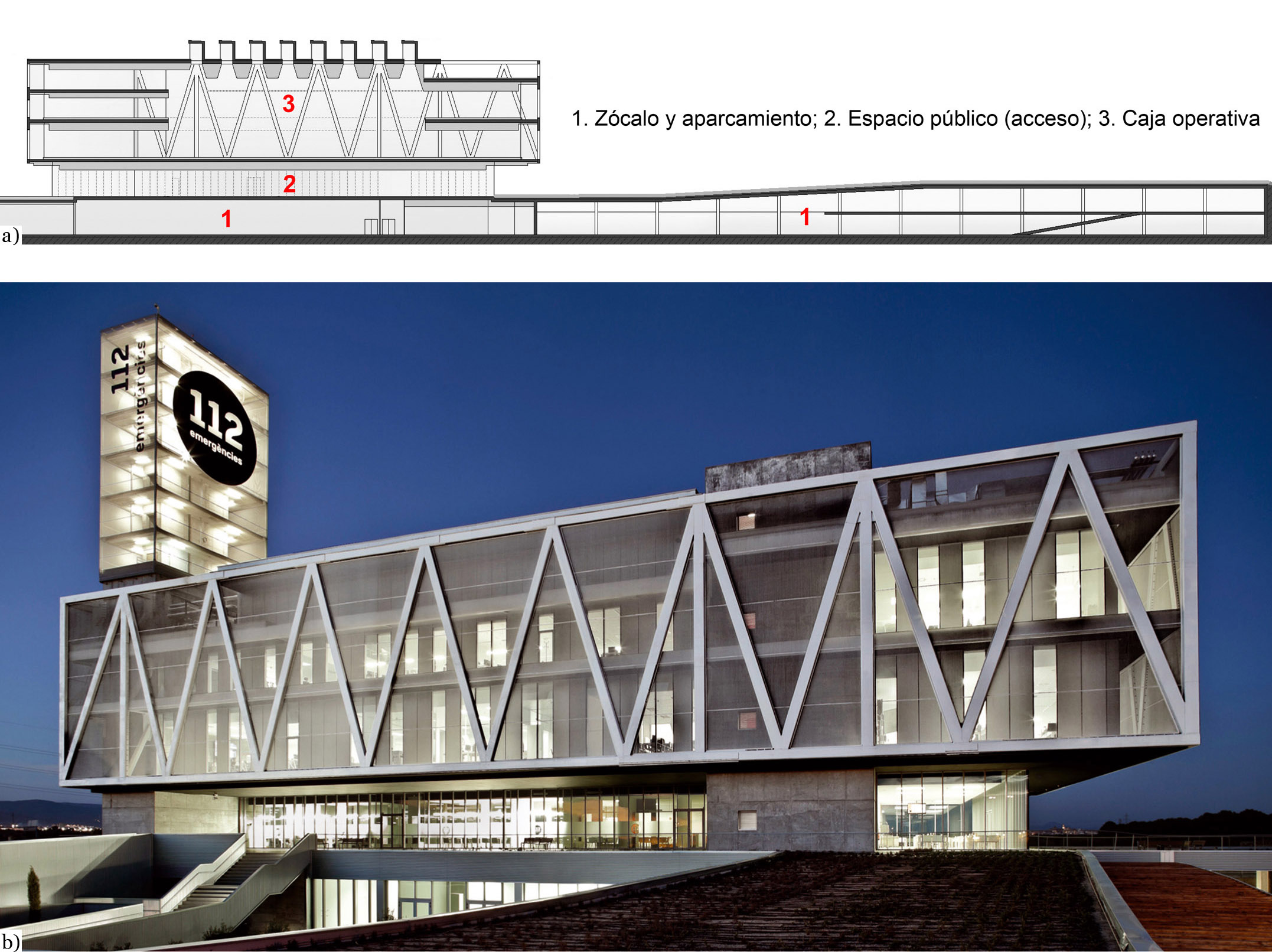 Criterios de diseño y análisis estructural del Centro de Atención y ...