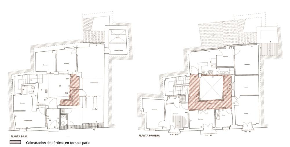 La recuperación del patio en la arquitectura doméstica mudéjar ...