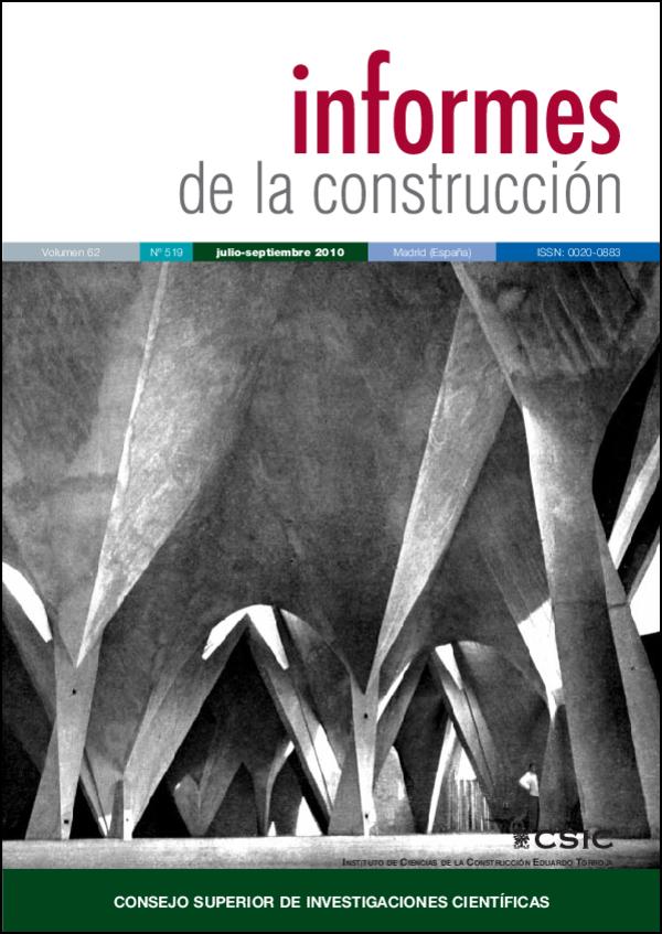 Ver Vol. 62 Núm. 519 (2010)