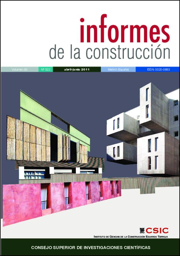 Ver Vol. 63 Núm. 522 (2011)