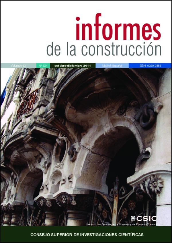 Ver Vol. 63 Núm. 524 (2011)