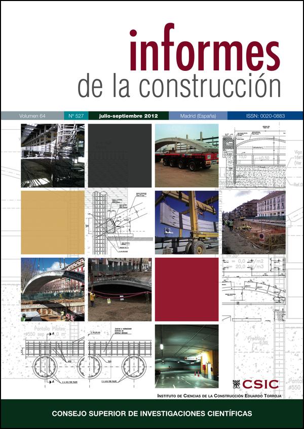 Ver Vol. 64 Núm. 527 (2012)