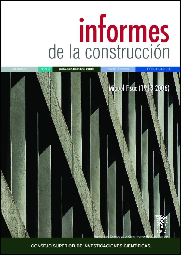Ver Vol. 58 Núm. 503 (2006)