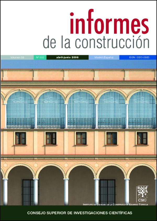 Ver Vol. 58 Núm. 502 (2006)