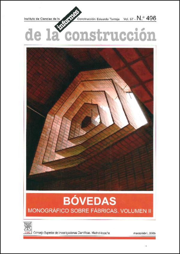 Ver Vol. 56 Núm. 496 (2005)