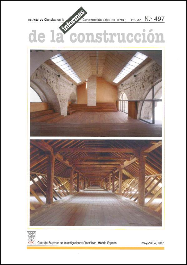 Ver Vol. 57 Núm. 497 (2005)
