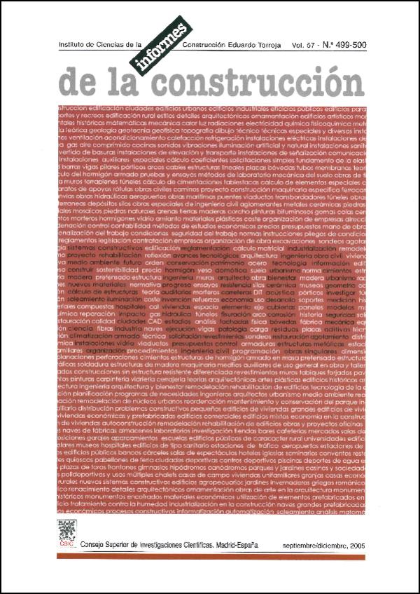 Ver Vol. 57 Núm. 499-500 (2005)