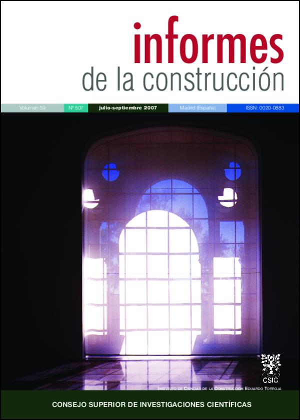 Ver Vol. 59 Núm. 507 (2007)