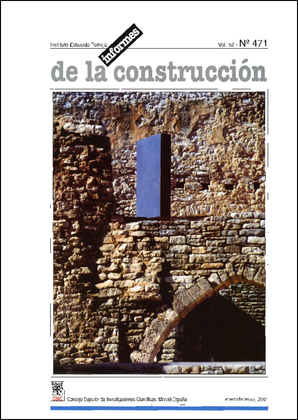 Ver Vol. 52 Núm. 471 (2001)