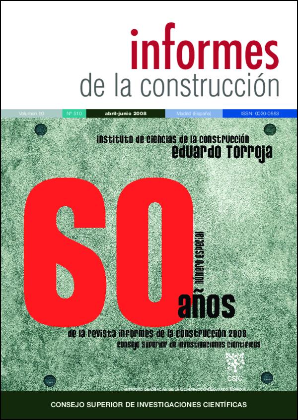 Ver Vol. 60 Núm. 510 (2008)